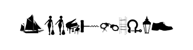 Písmo WC Sold Out B Bta